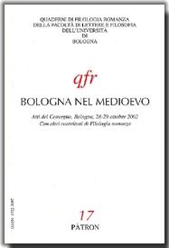 Bologna nel Medioevo. Atti del Convegno (Bologna, ottobre 2002)
