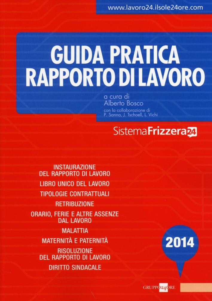 Guida pratica rapporto di lavoro 2014