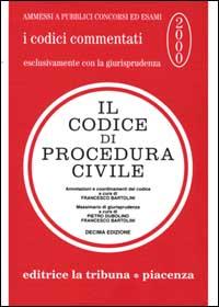 Il codice di procedura civile commentato