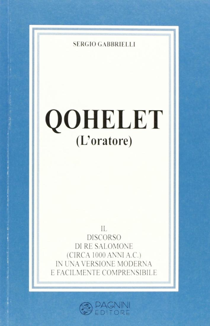 Qohelet (L'oratore)