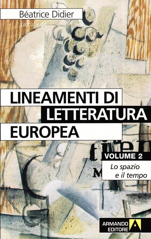 Lineamenti di letteratura europea. Vol. 2