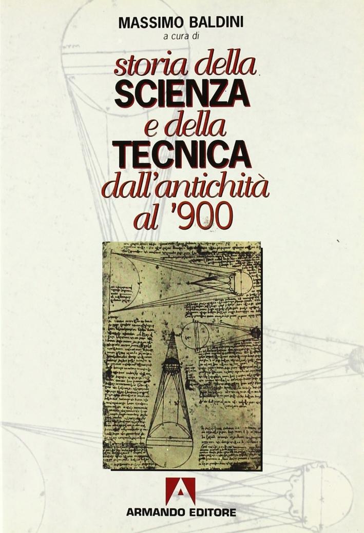 Storia della scienza e della tecnica dall'antichità al '900