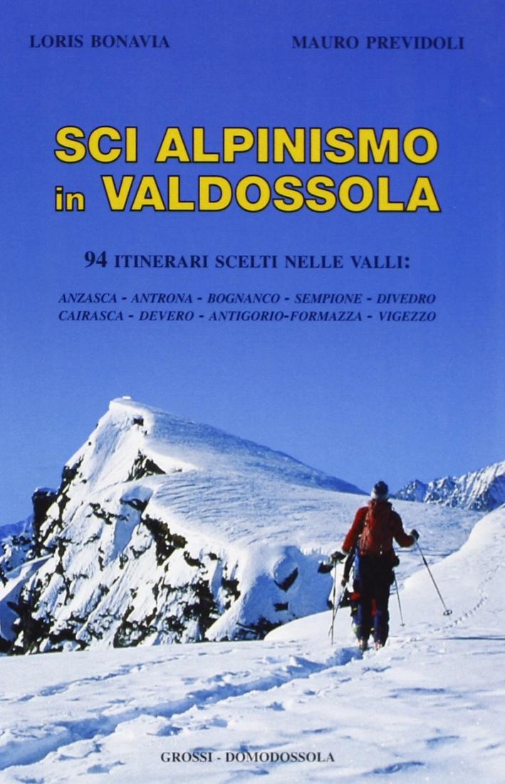 Sci alpinismo in val d'Ossola