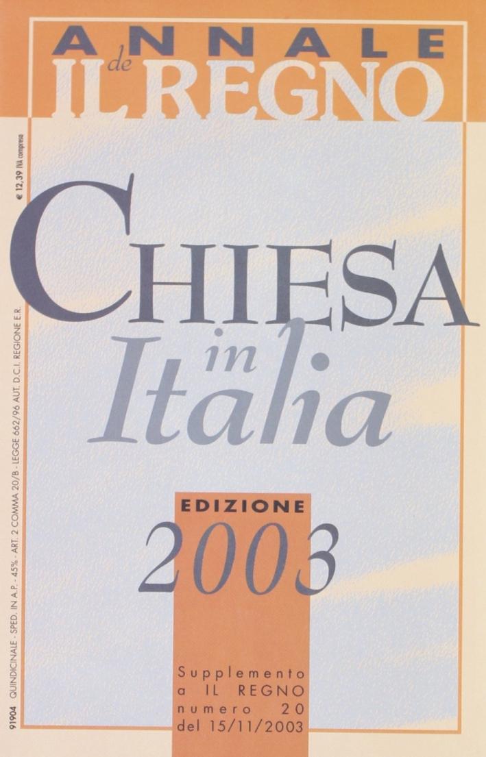 Chiesa in Italia (2003)