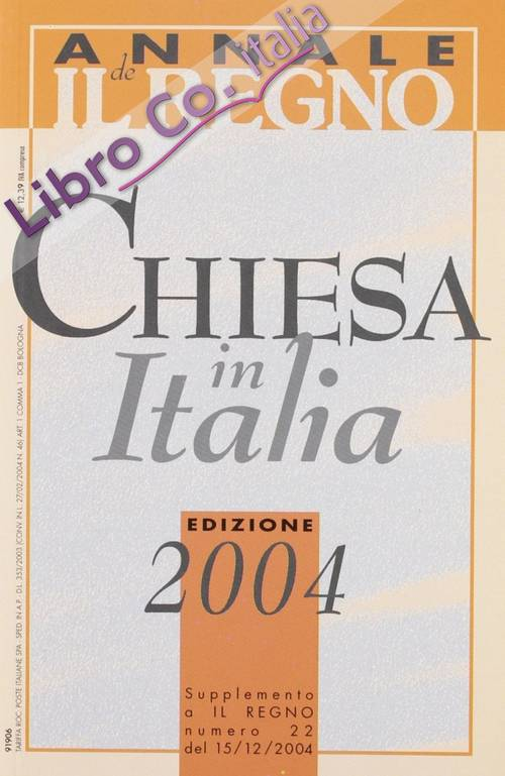 Chiesa in Italia 2004