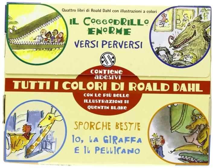 Tutti I Colori Di Roald Dahl Cof.4.