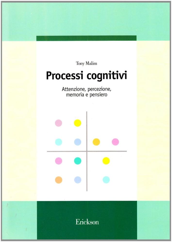Processi cognitivi. Attenzione, percezione, memoria e pensiero.