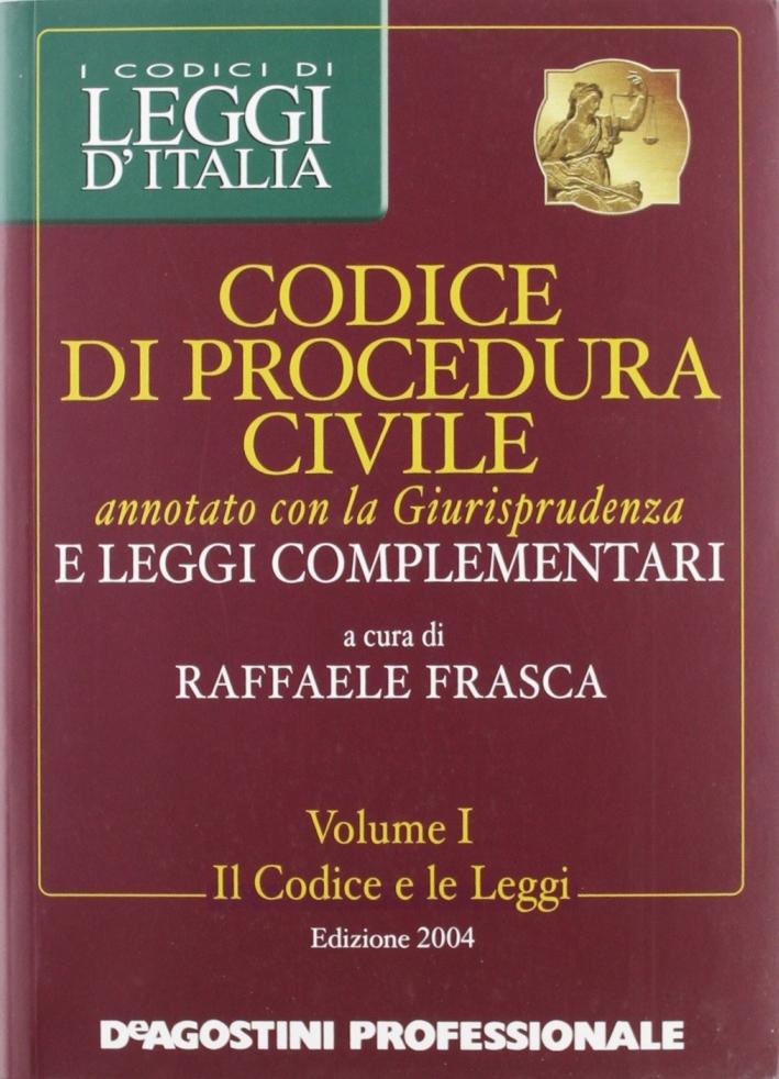Codice di procedura civile annotato con giurisprudenza 2004