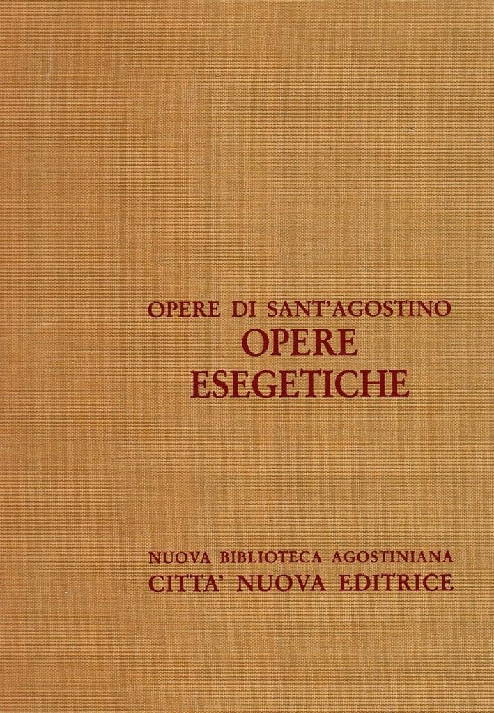 Opera Omnia. Vol. 10/3: Opere Esegetiche. Otto Questioni dell'Antico Testamentoannotazioni sul Libro di Giobbe....