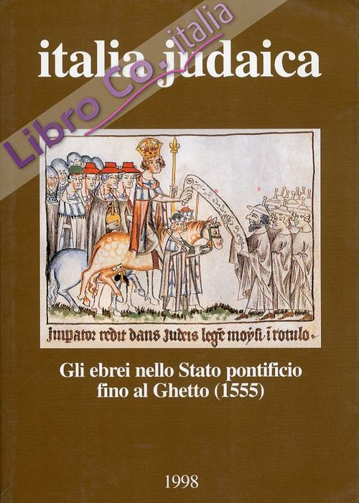 Italia judaica.