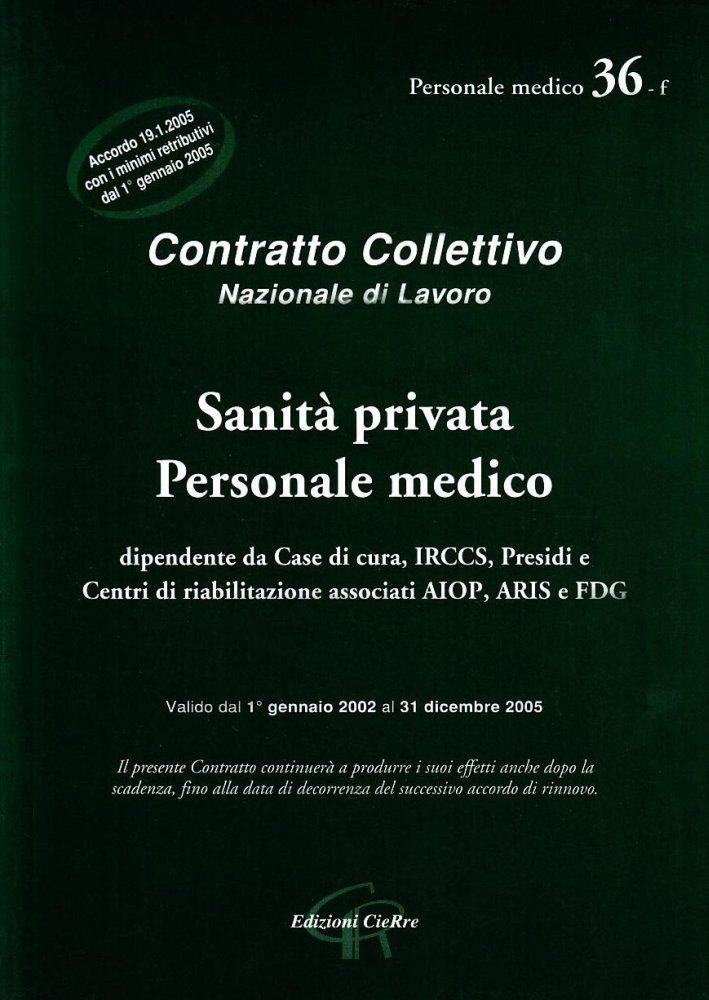 CCNL sanità privata personale medico