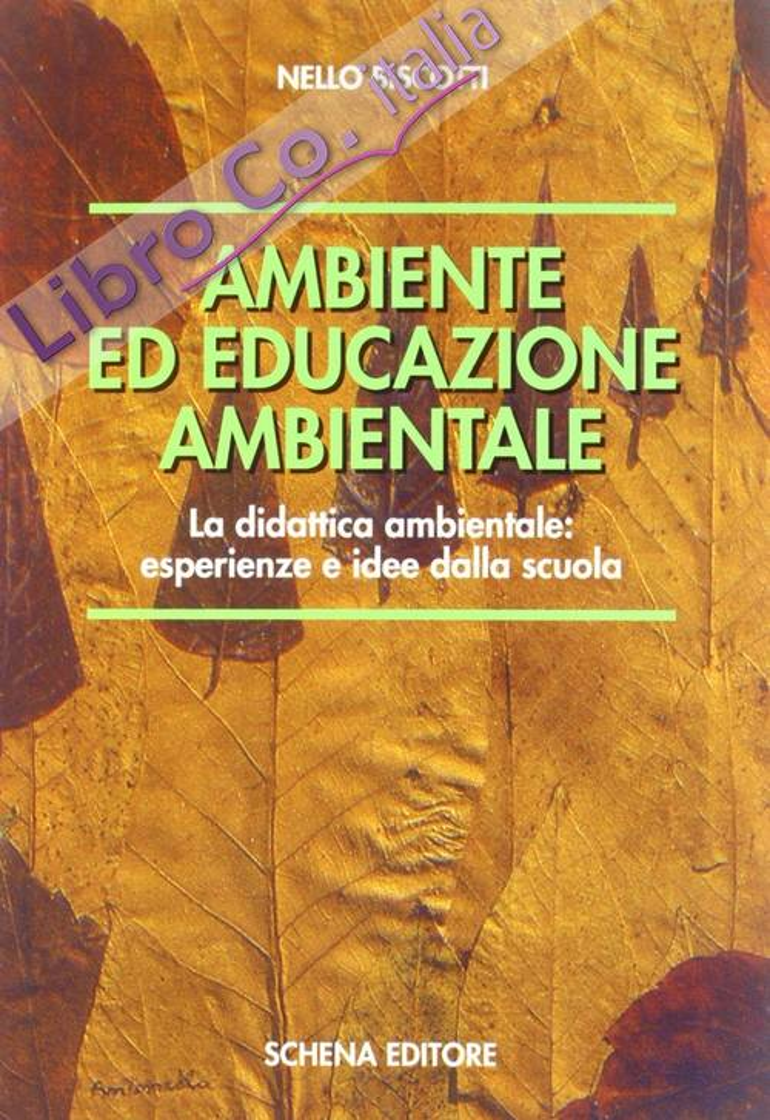 Ambiente ed educazione ambientale