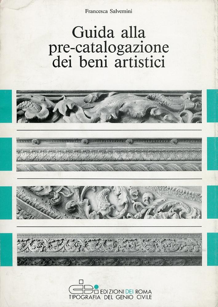 Guida alla pre-catalogazione dei beni artistici
