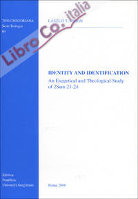Identity and identification. An exegetical and theological study of 2 Sam. 21-24