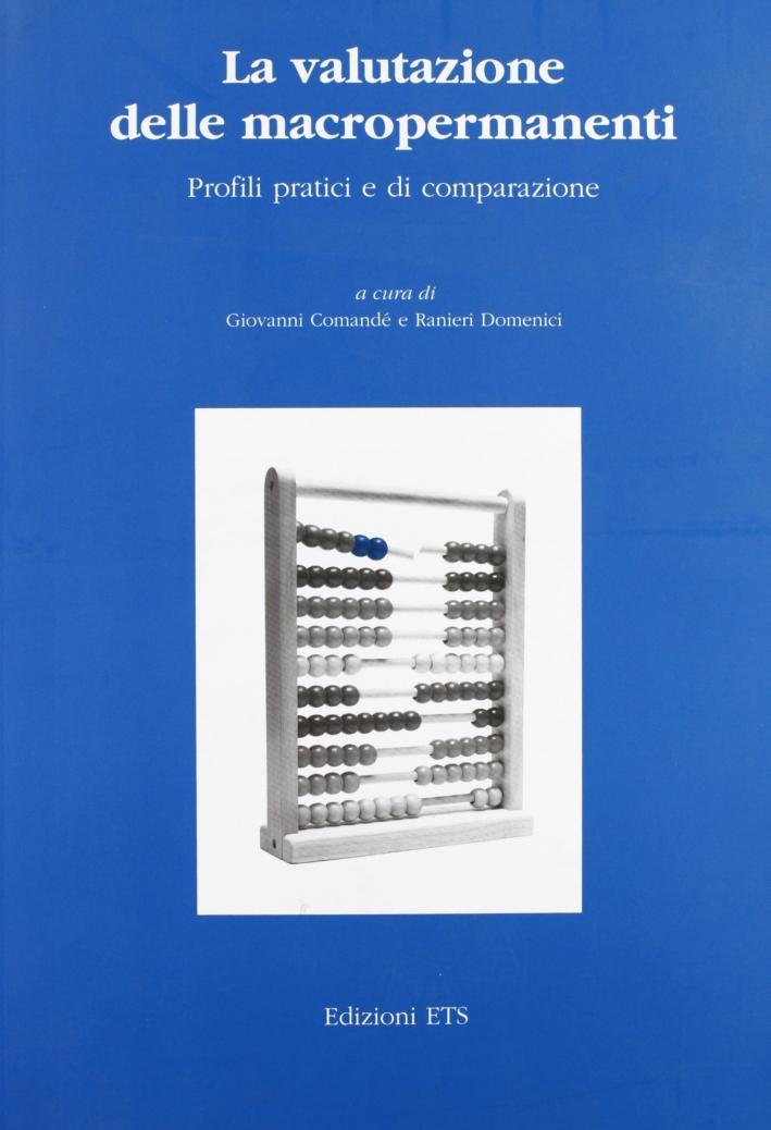 La valutazione delle macropermanenti. Profili pratici e di comparazione