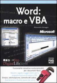 Word: macro e VBA.