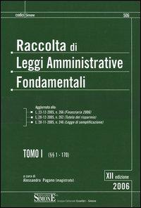 Raccolta di leggi amministrative fondamentali