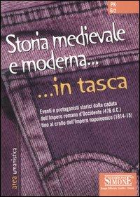 Storia medievale e moderna.