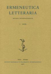 Ermeneutica letteraria. Rivista internazionale. 1. 2005