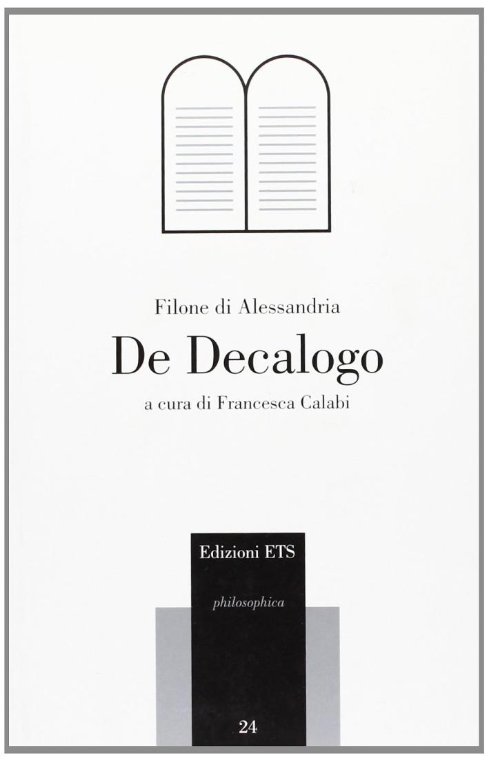 De Decalogo.
