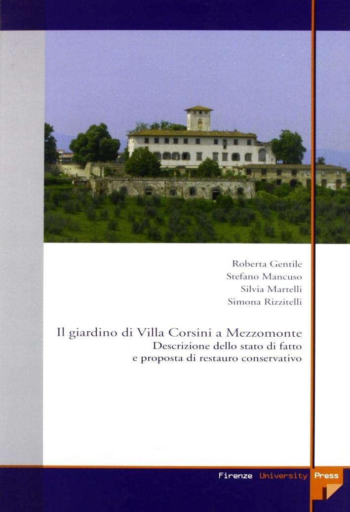 In giardino di Villa Corsini a Mezzomonte