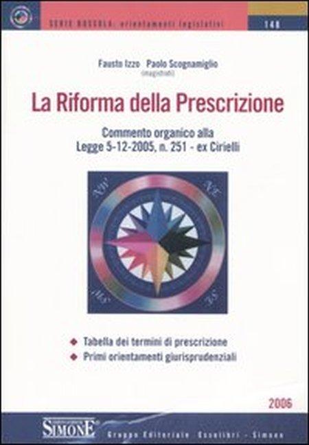 La riforma della prescrizione