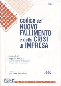 Codice del nuovo fallimento e della crisi di impresa