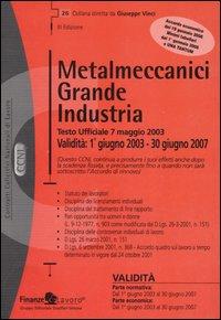 Metalmeccanici grande industria
