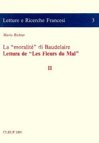 La moralité di Baudelaire. Lettura de