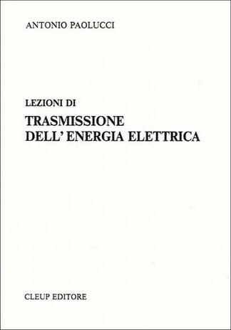 Lezioni di trasmissione dell'energia elettrica