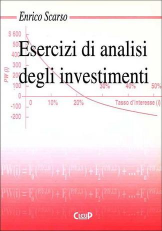 Esercizi di analisi degli investimenti