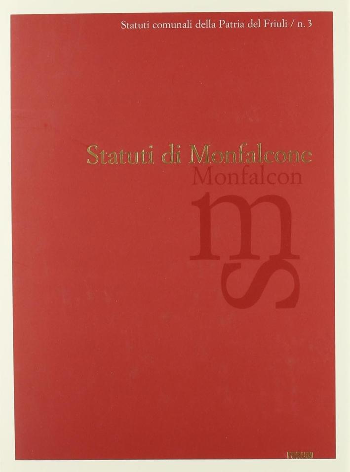 Statuti di Monfalcone. Testo latino a fronte