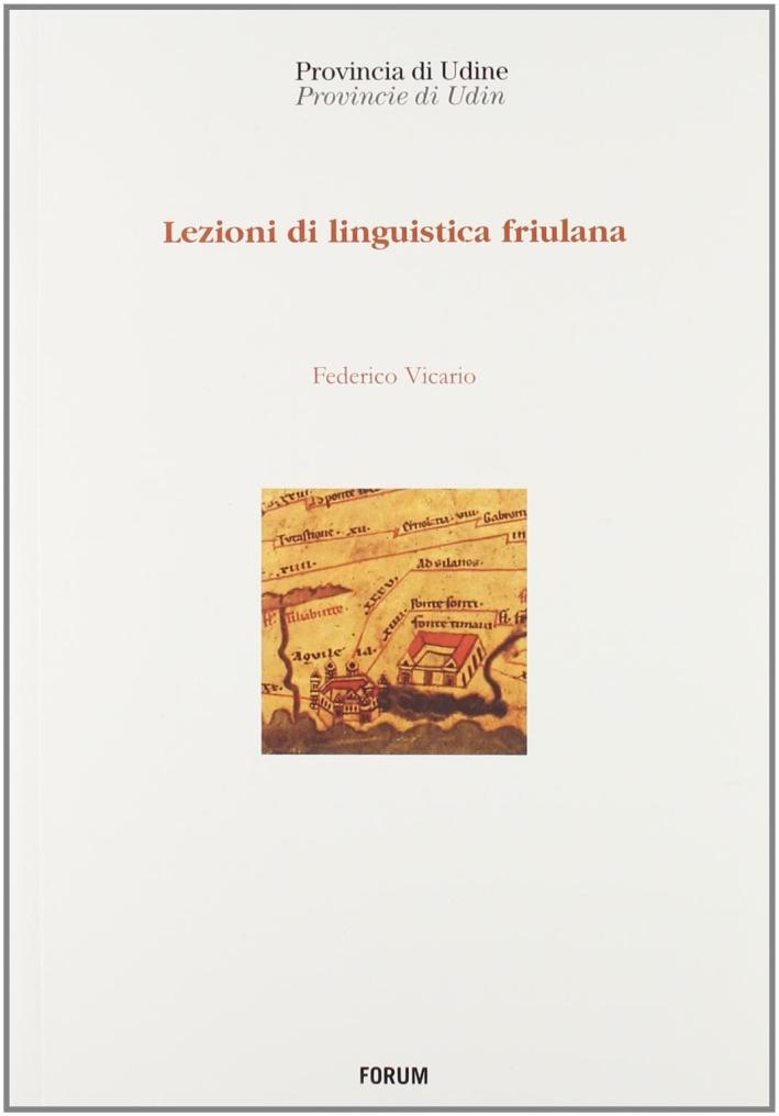 Lezioni di linguistica friulana