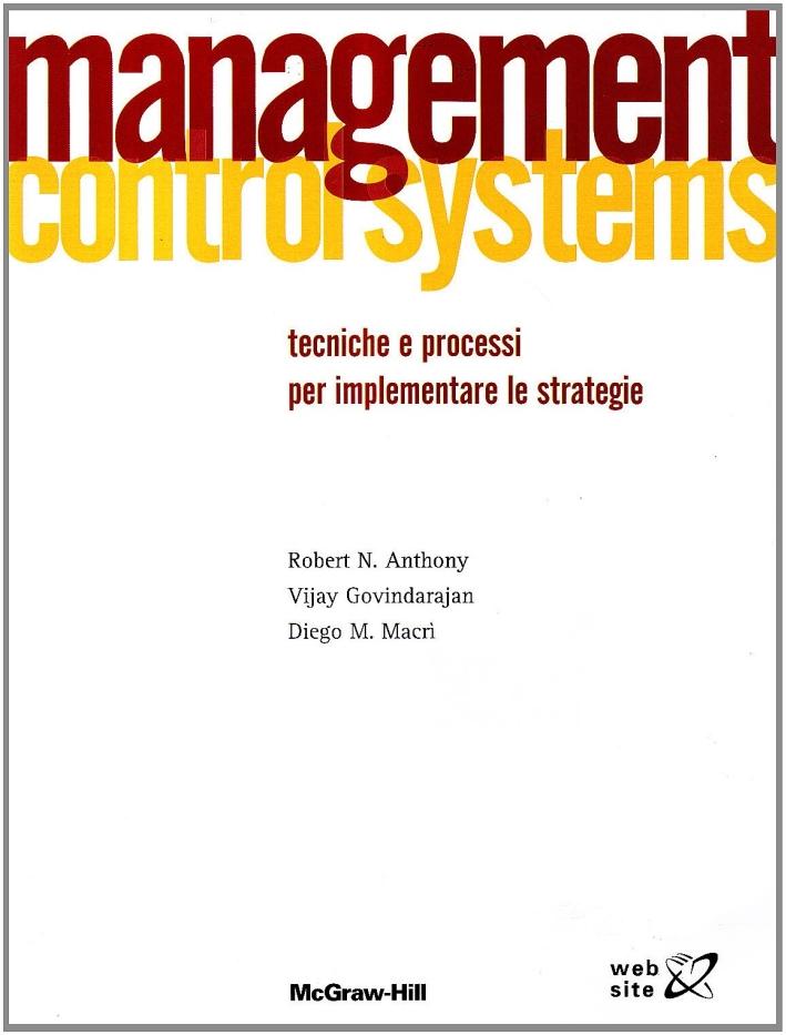 Management control systems. Tecniche e processi per implementare le strategie.