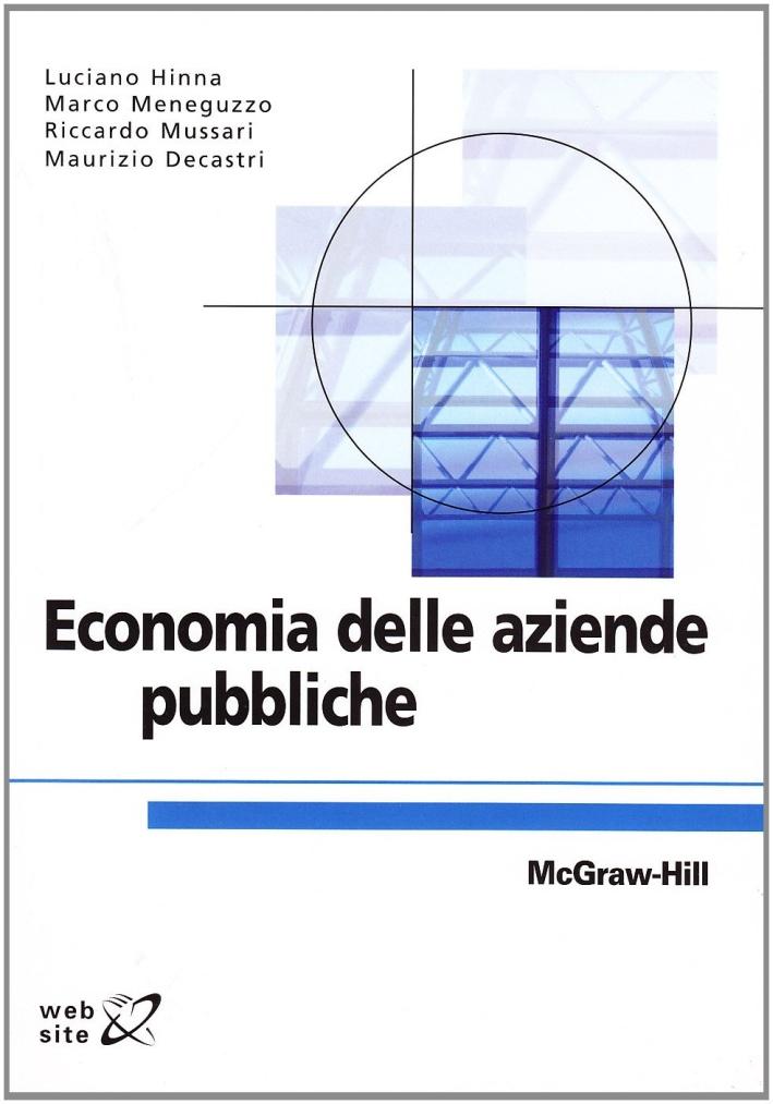 Economia delle aziende pubbliche.