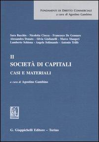 Società di capitali. Casi e materiali. Vol. 2