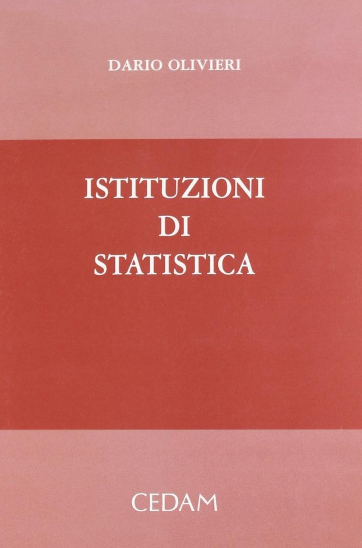 Istituzioni di statistica.