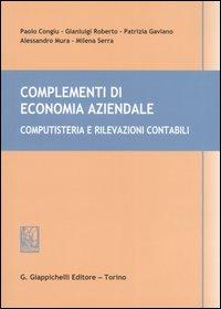 Complementi di economia aziendale. Computisteria e rivelazioni contabili.