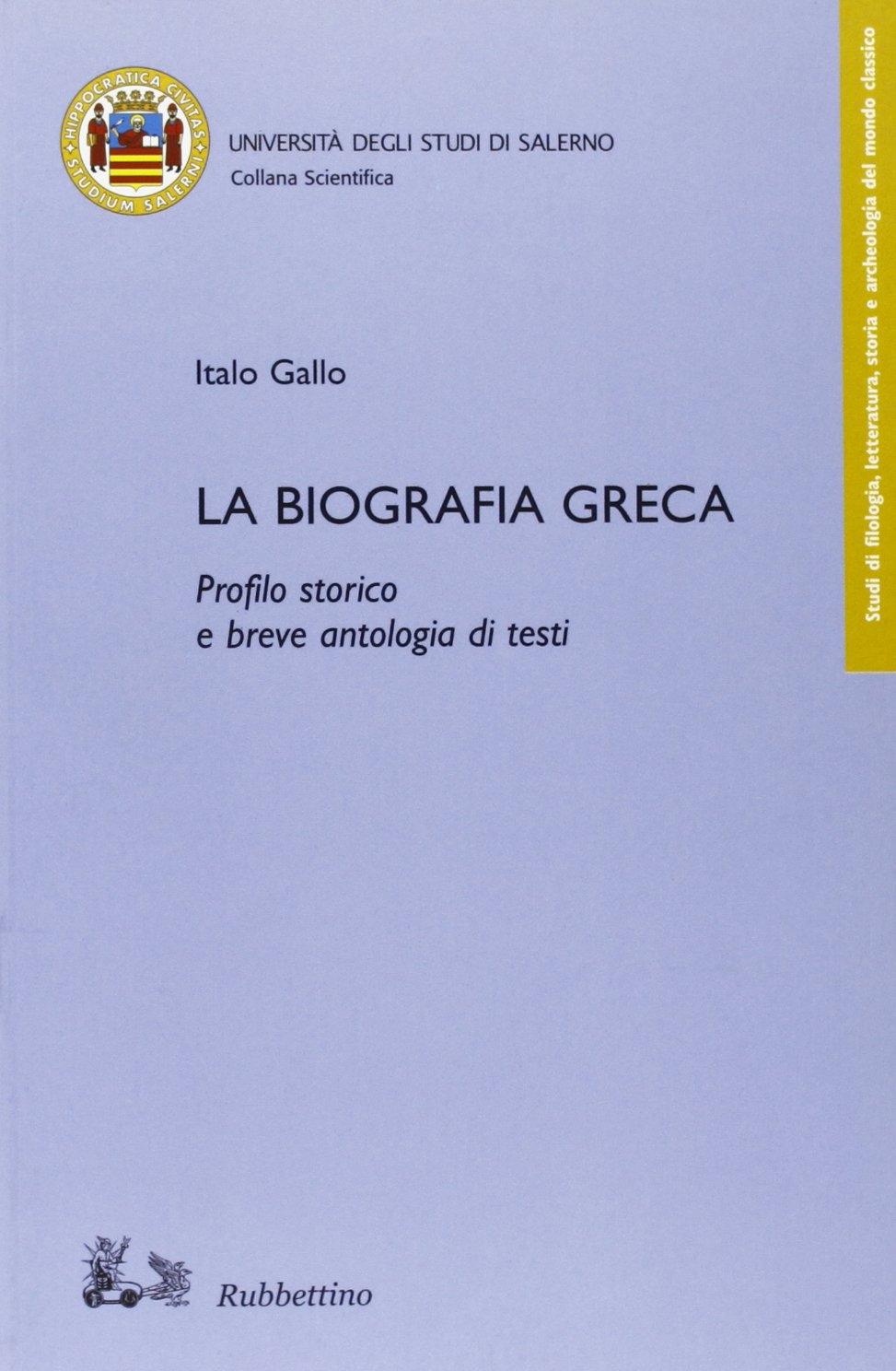 La biografia greca.