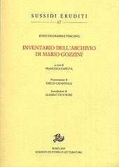 Inventario dell'archivio di Mario Gozzini