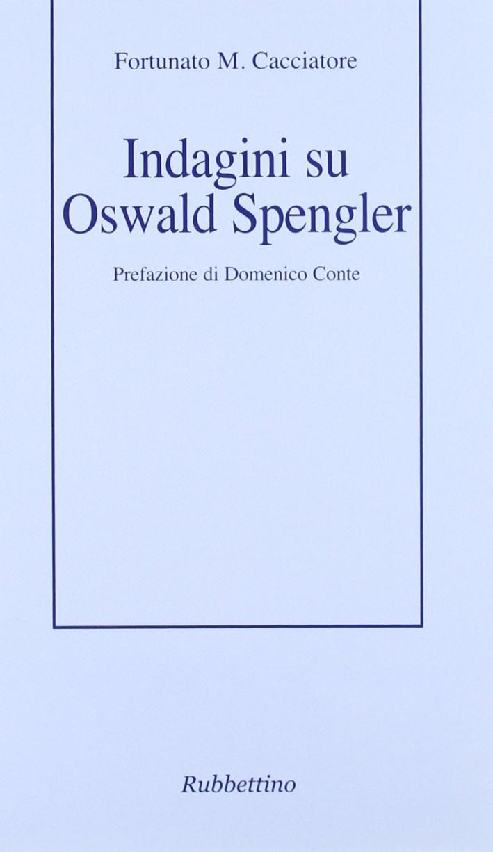 Indagini su Oswald Spengler