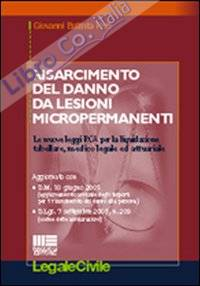 Risarcimento del danno da lesioni micropermanenti