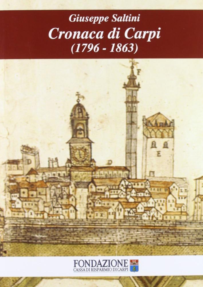 Cronaca di Carpi (1796-1863)