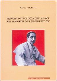 Principi di teologia della pace nel magistero di Benedetto XV.