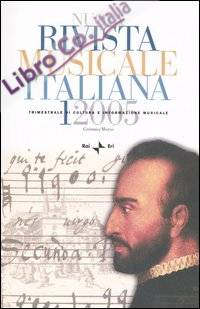 Nuova rivista musicale italiana (2005). Vol. 1