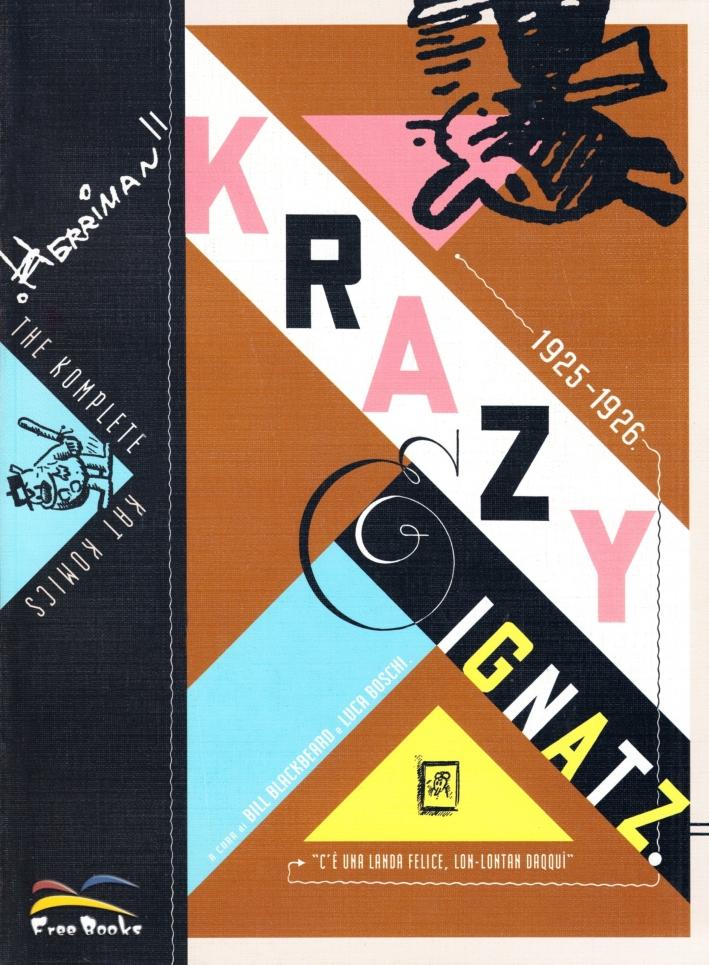 The Komplete Kat Komics. Krazy e Ignats 1925-1926