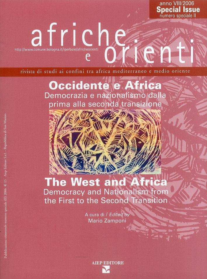 Afriche e Orienti. Speciale 2/2006. Occidente e Africa