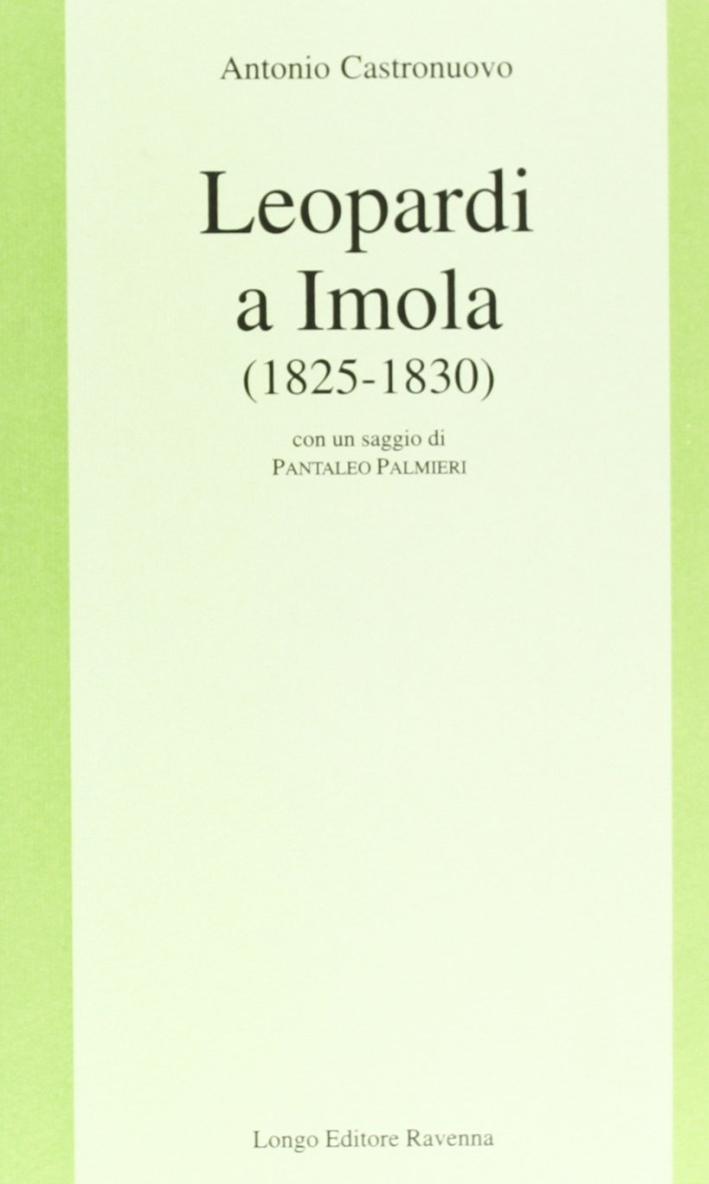 Leopardi a Imola, 1825-1830