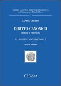 Diritto canonico. II. Nozioni e riflessioni