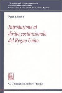 Introduzione al diritto costituzionale del Regno Unito